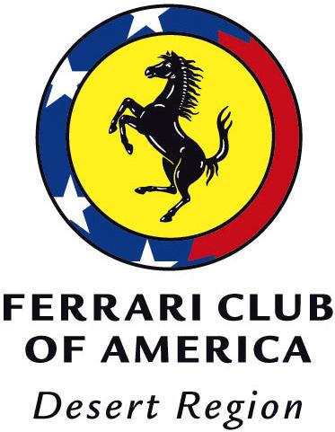 Ferrari Club Of Americau2014Desert Region
