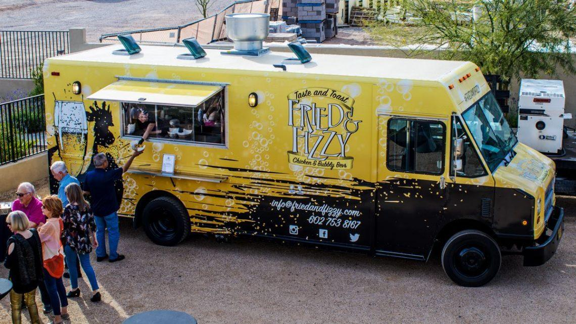 Fried Fizzy Food Truck Bentley Scottsdale Polo Championships